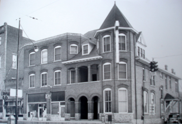Merchant Tower - Historic Photo